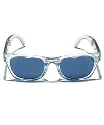 Tobago clear blue folding sunglasses
