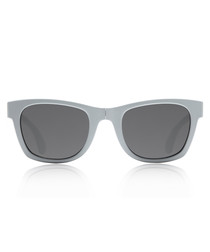 Tobago matte grey folding sunglasses