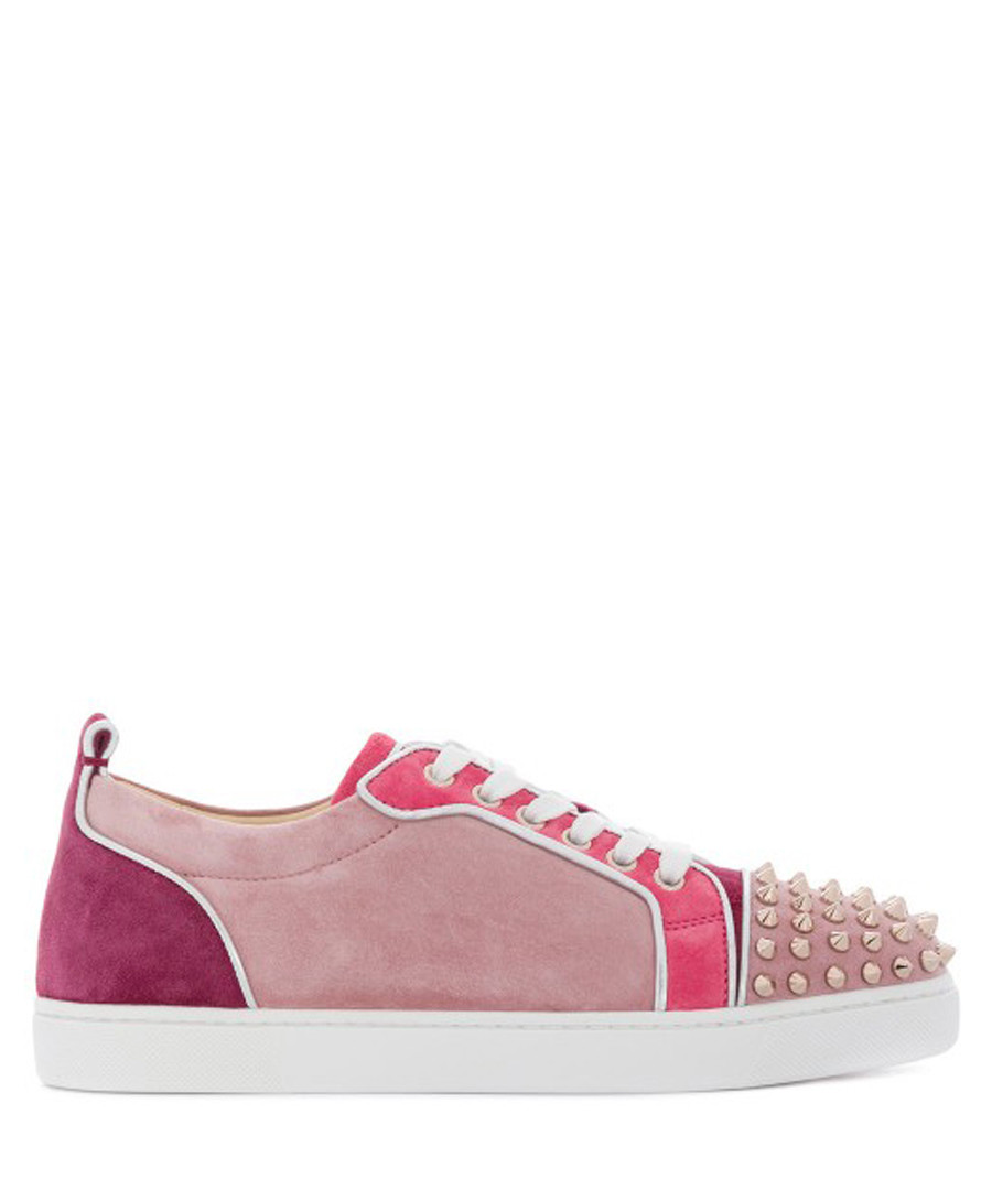 check out 2e454 5000f Discount Junior Spike pink leather sneakers | SECRETSALES