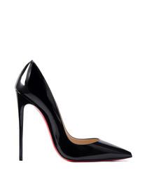 So Kate 120 black patent leather stilettos