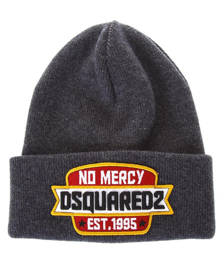 2f75fa0de0e Men s No Mercy grey beanie Sale - DSQUARED