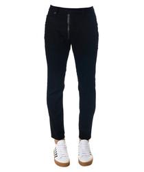 Men's Skater black cotton jeans