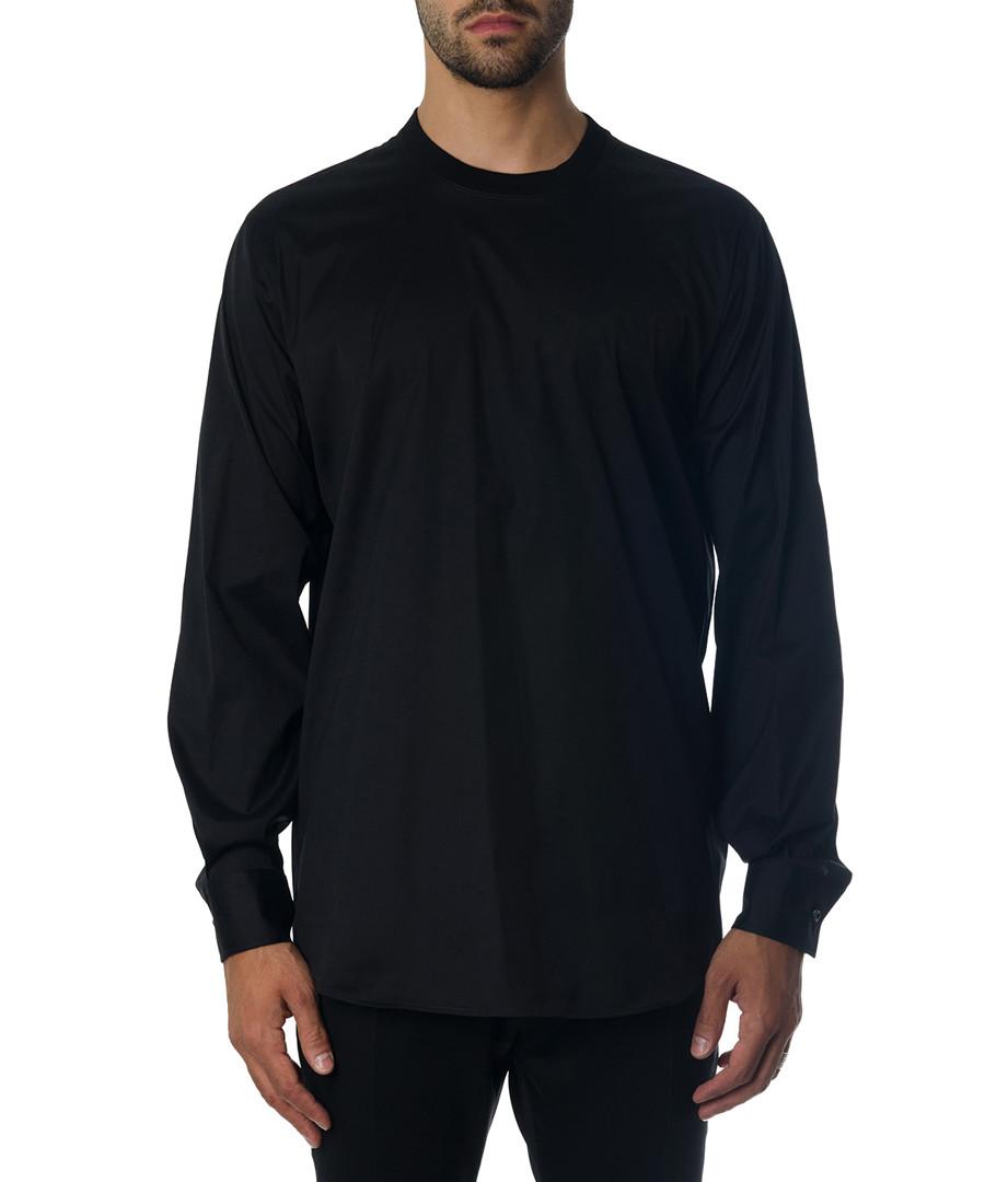 Men's black cotton stretch top  Sale - DSQAURED2