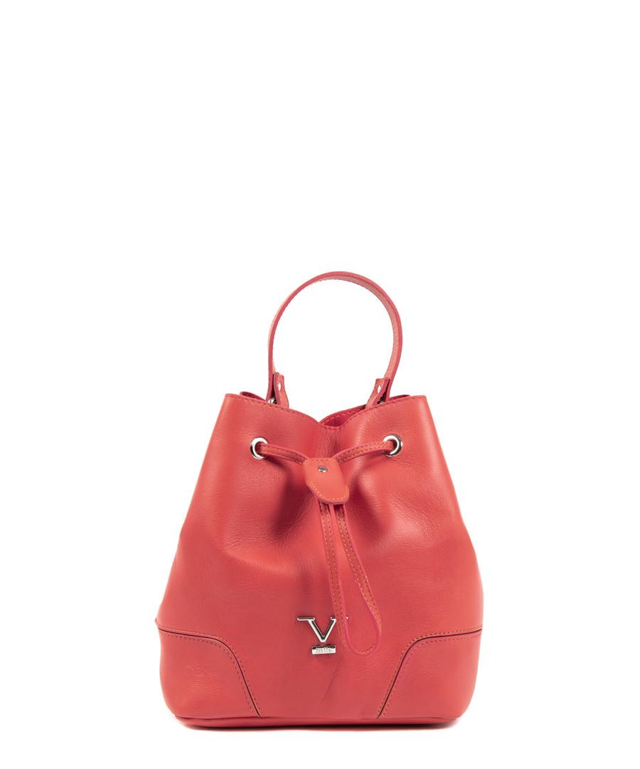 Coral leather bucket bag Sale - v italia by versace 1969 abbigliamento sportivo srl milano italia
