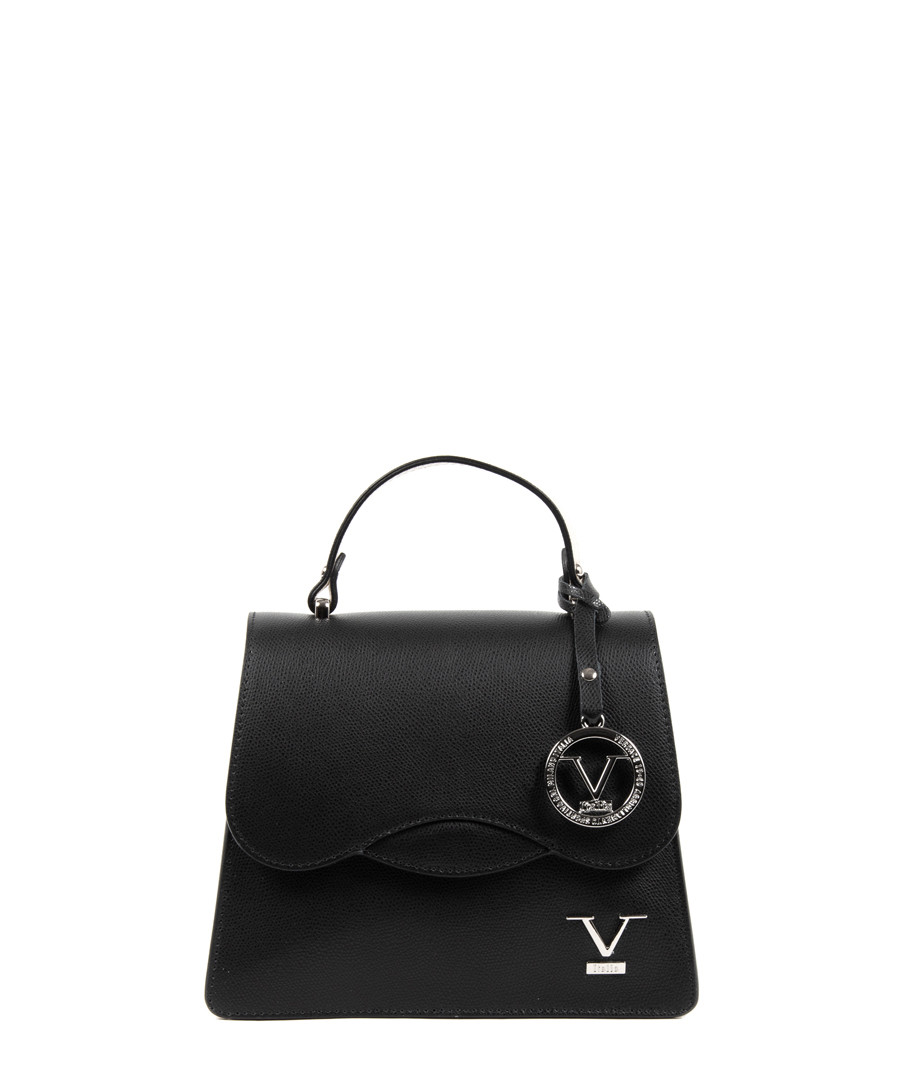 52b442ff61a1 Black leather grab bag Sale - versace 1969 abbigliamento sportivo