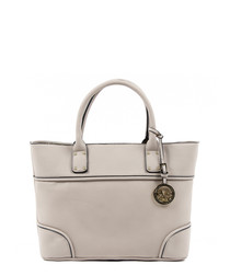 Light grey piped detail grab bag