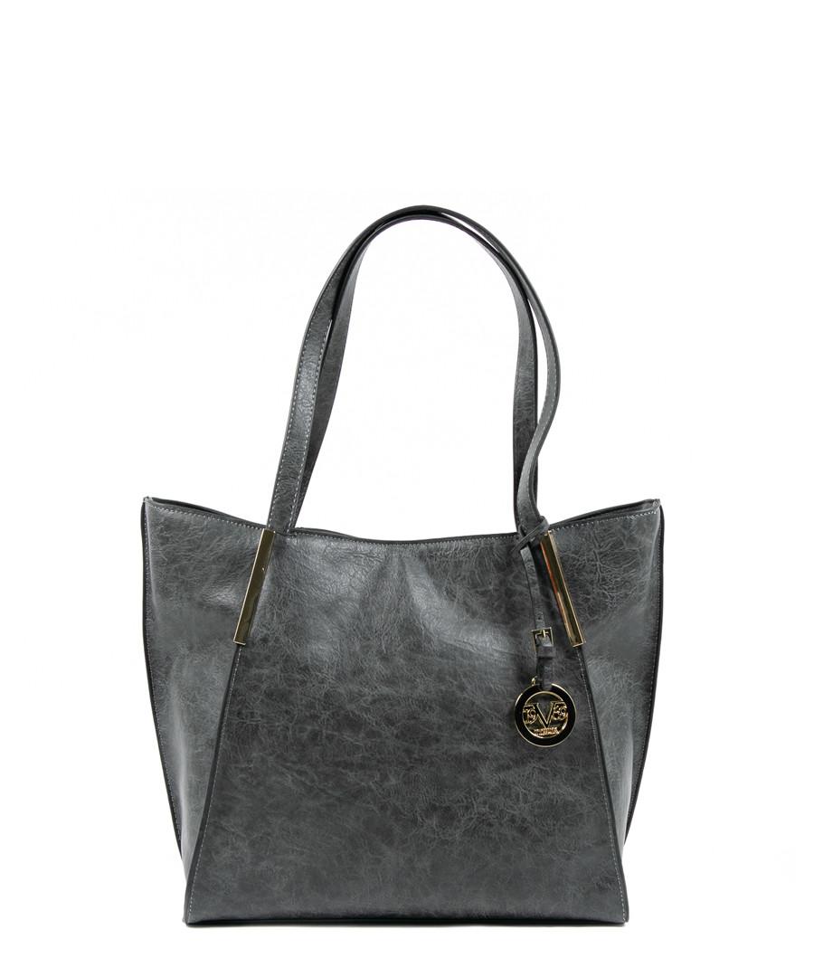 488ea74e3fe9 Dark grey shoulder bag Sale - v italia by versace 1969 abbigliamento  sportivo srl milano italia ...