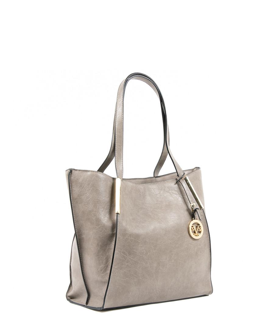 4ff6cc193a4b ... Grey trapeze shoulder bag Sale - versace 1969 abbigliamento sportivo ...