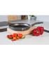Black aluminium frying pan 28cm Sale - Domo Sale