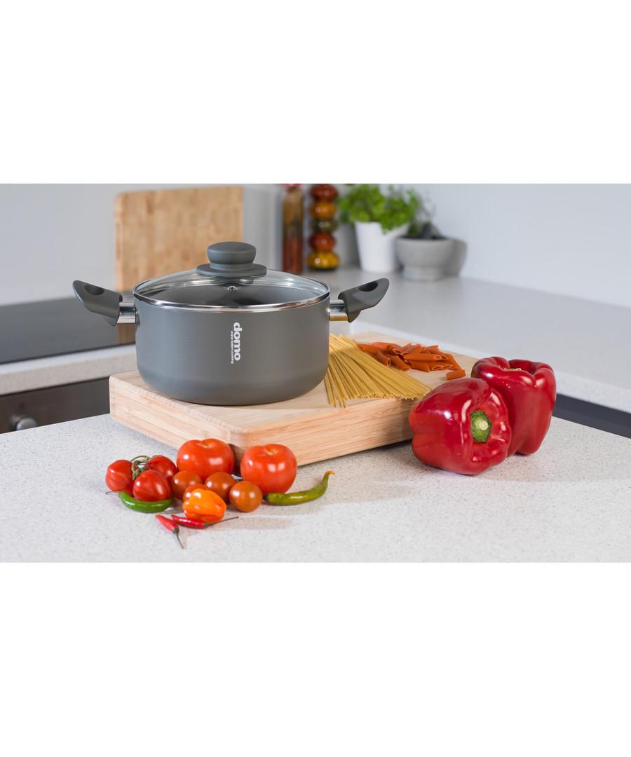Black aluminium casserole dish 20cm Sale - Domo