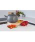 2pc black pasta pot & lid 24cm Sale - Domo Sale