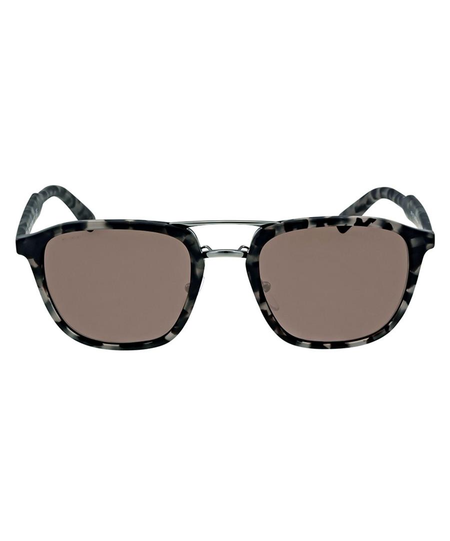 Black & grey flecked sunglasses Sale - Prada