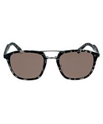 Black & grey flecked sunglasses