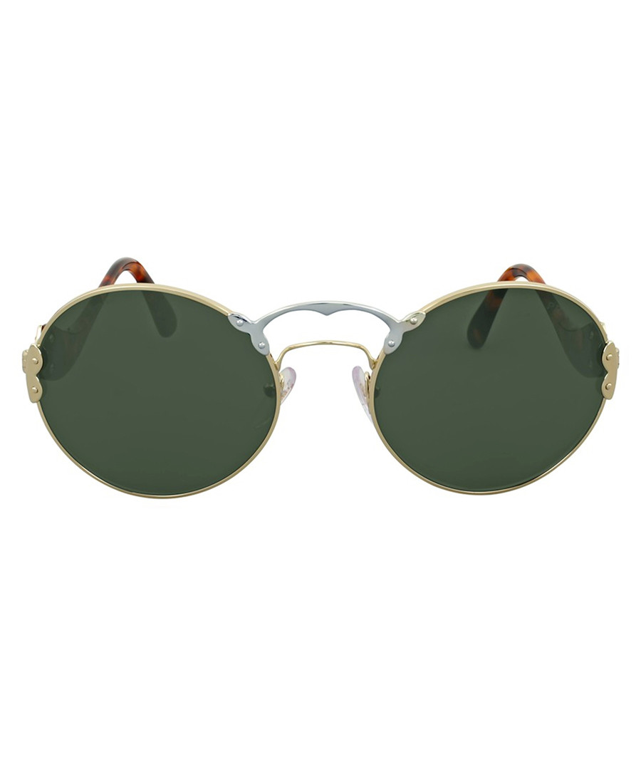 Brown frameless sunglasses Sale - prada