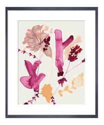 Pinks I framed print