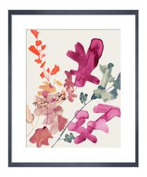 Pinks II framed print