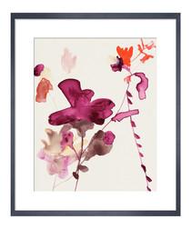 Pinks III framed print