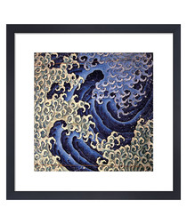 Masculine Wave framed print