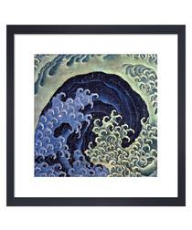 Feminine Wave framed print