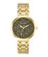 Gold-tone crystal & steel watch Sale - mestige Sale
