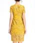 Amber V-neck embroidered dress Sale - lanelle Sale
