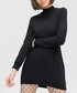 Anthracite pure cotton high-neck dress Sale - true prodigy Sale