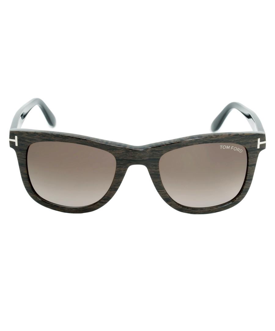 f6e520ac210 Black   brown wayfarer sunglasses Sale - TOM FORD