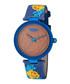 Carroll Gardens blue printed watch Sale - rebel Sale