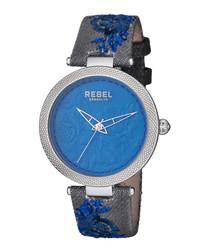 Carroll Gardens grey & blue watch
