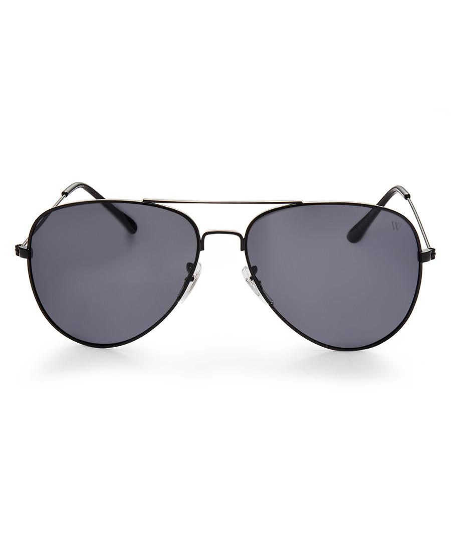 Kenzo black aviator sunglasses  Sale - winstonne