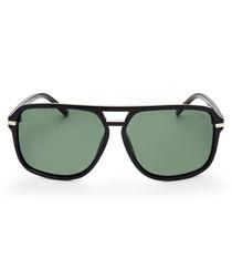 Malin black & green sunglasses
