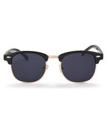Apollo black & gold-tone sunglasses