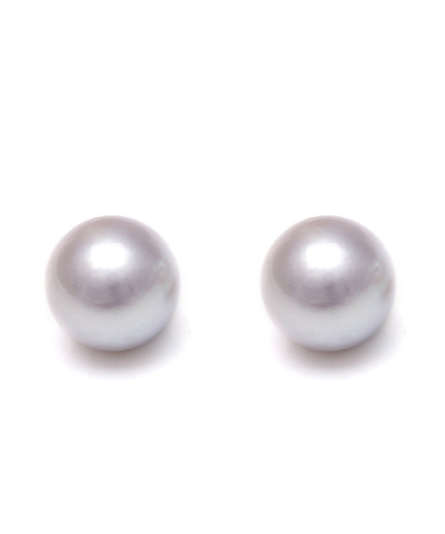 1cm pearl & 9ct gold-plated studs Sale - Windsor Pearls