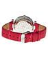 Red leather moc-croc print watch Sale - sophie & freda Sale