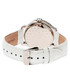 White leather moc-croc crystal watch Sale - sophie & freda Sale