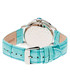 Turquoise leather moc-croc crystal watch Sale - sophie & freda Sale