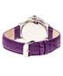Purple leather moc-croc crystal watch Sale - sophie & freda Sale