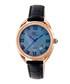 Rose gold-tone moc-croc crystal watch Sale - sophie & freda Sale