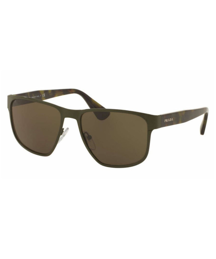 Brown squared sunglasses Sale - PRADA