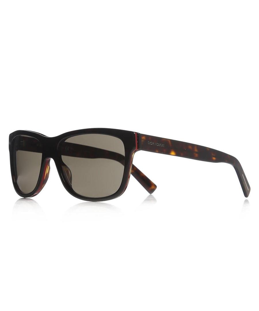 bbe2db156950 Grey   Havana rectangular sunglasses Sale - DIOR