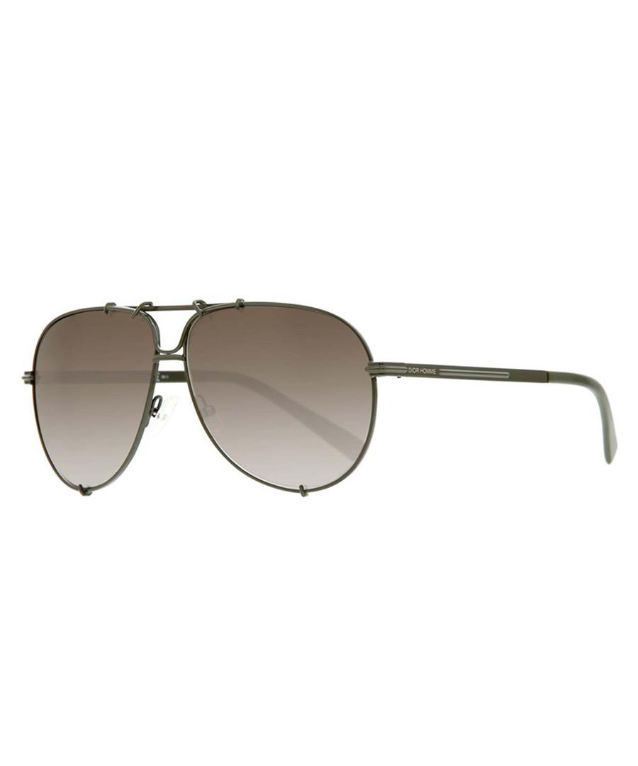 4aa4b95a8702 Grey   khaki aviator sunglasses Sale - DIOR