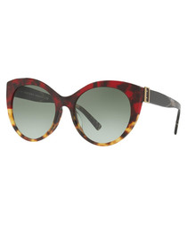 Multi-colour oversized sunglasses