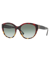 Multi-colour print sunglasses