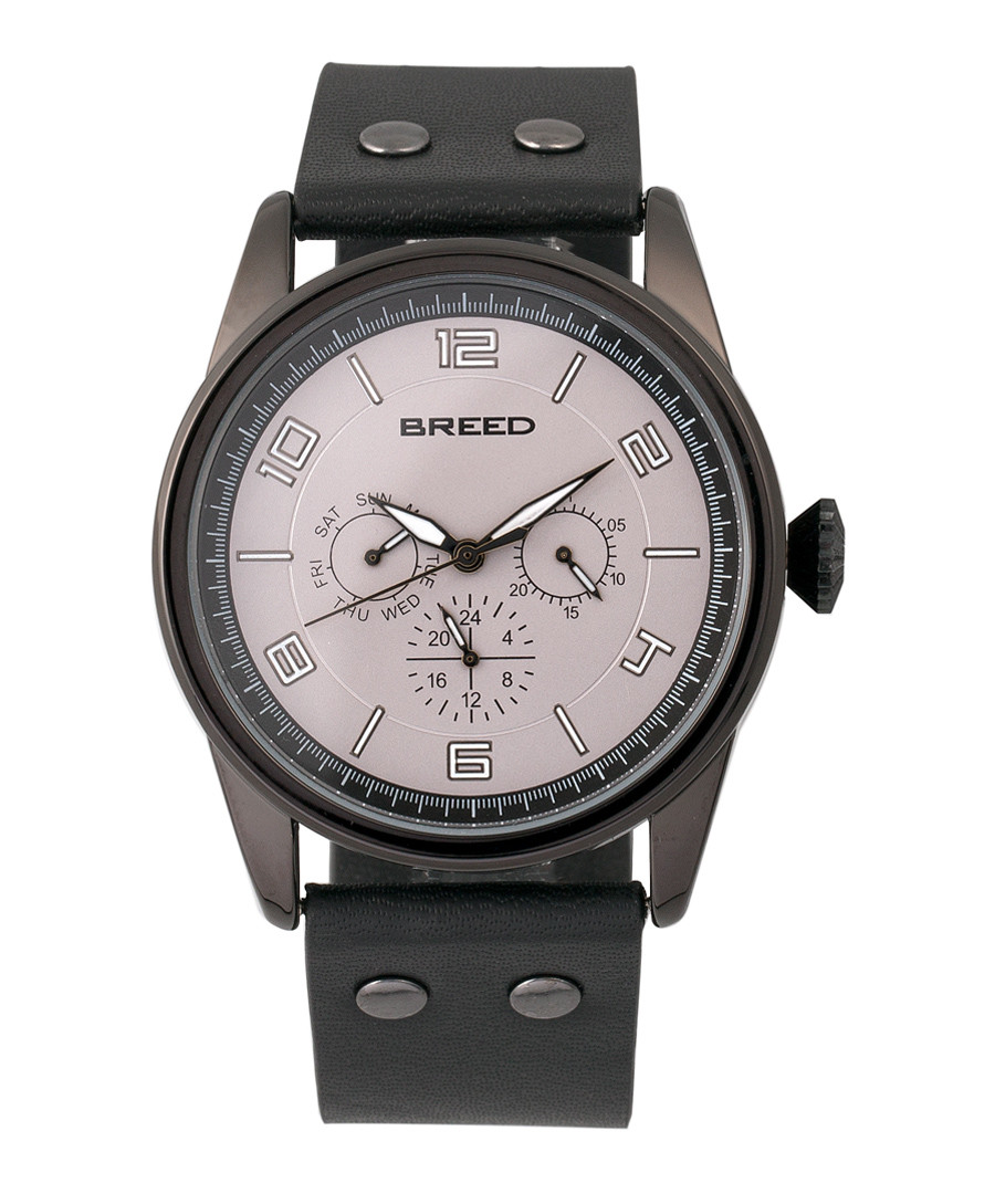 Rio black leather watch Sale - breed