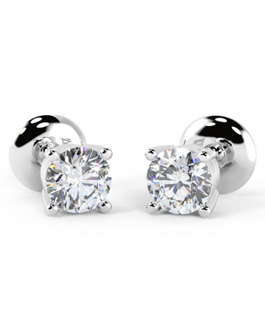 0.25ct diamond & white gold studs Sale - Buy Fine Diamonds
