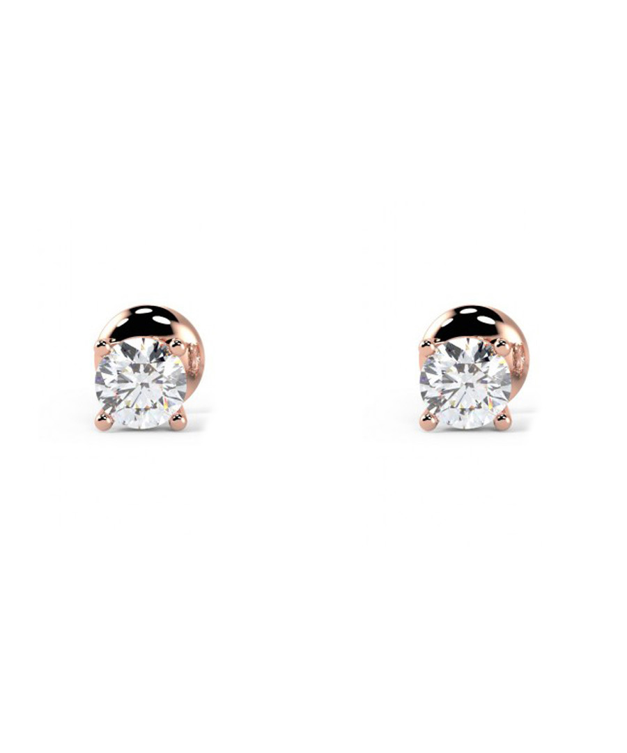 0.25ct diamond & 9kt rose gold studs Sale - Buy Fine Diamonds