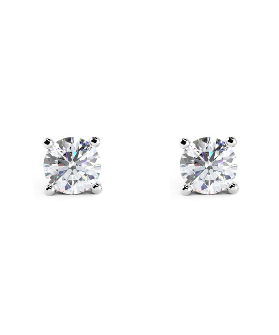 1ct diamond & white gold studs Sale - Buy Fine Diamonds