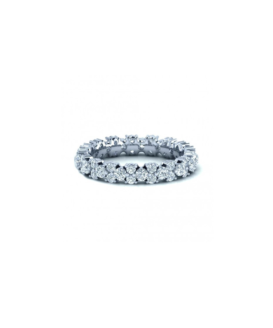 1ct diamond & white gold eternity ring Sale - buy fine diamonds