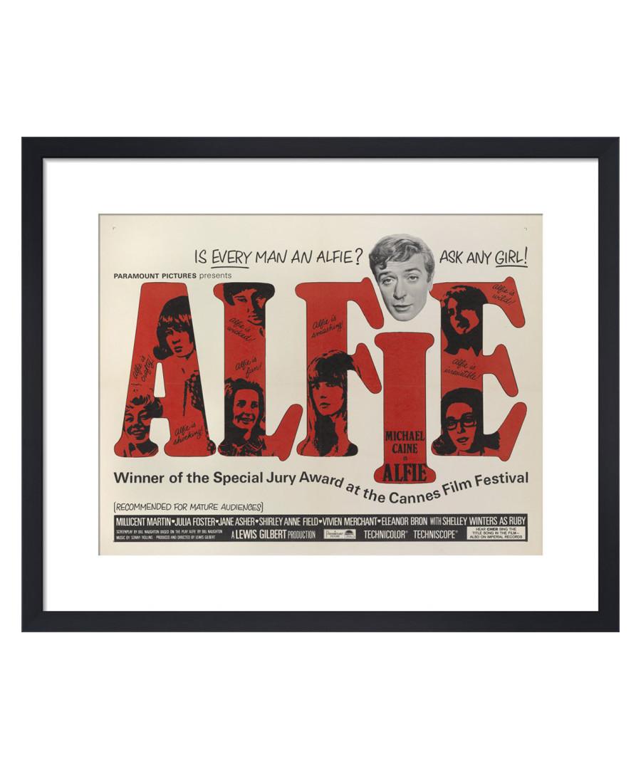 Alfie framed print Sale - The Art Guys