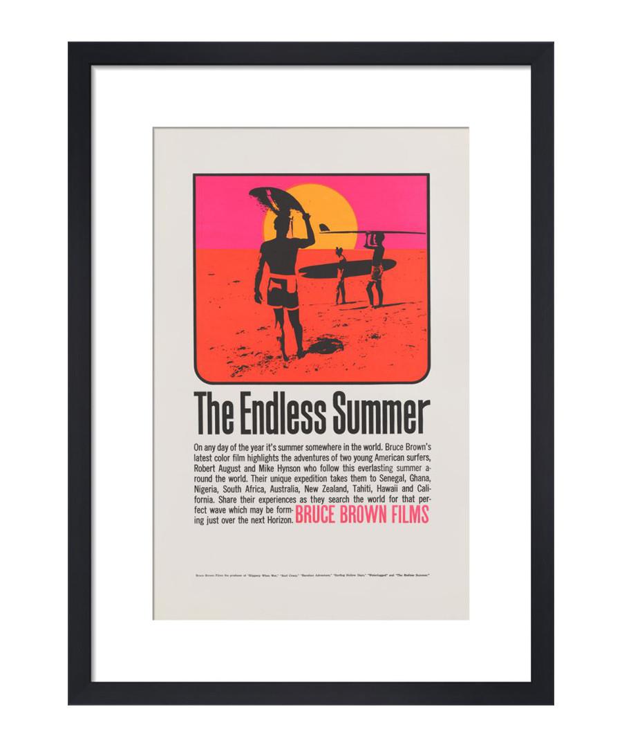 The Endless Summer framed print Sale - The Art Guys